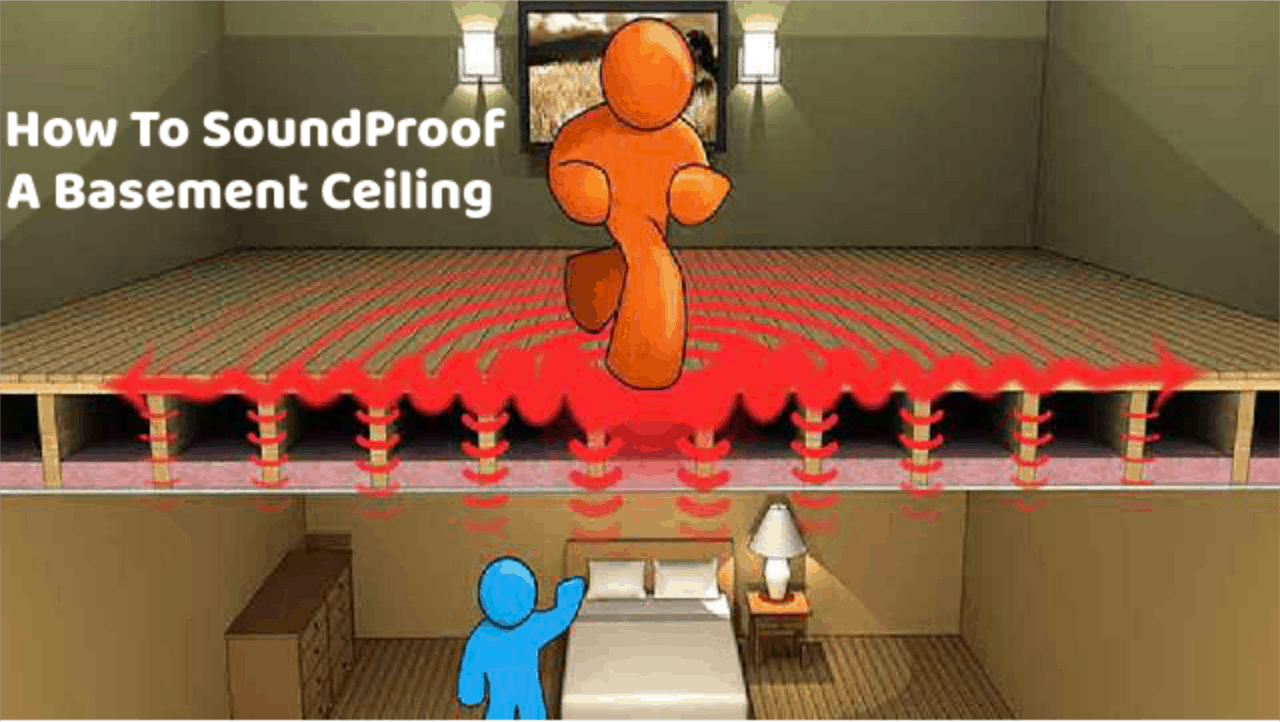 diy different ways on how to soundproof a basement ceiling and stairs rh soundproofguide com Paint Cement Basement Floor Ideas DIY Soundproofing Basement Ceiling