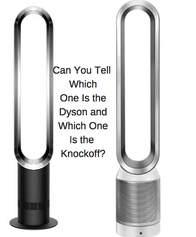 Dyson Bladeless Fan Vs Cheaper Knockoff.
