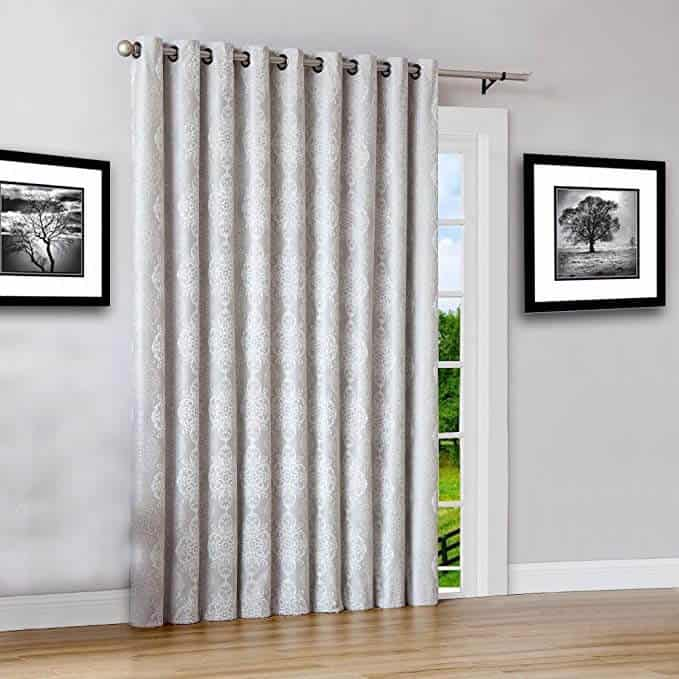 Warm home design extra wide curtains