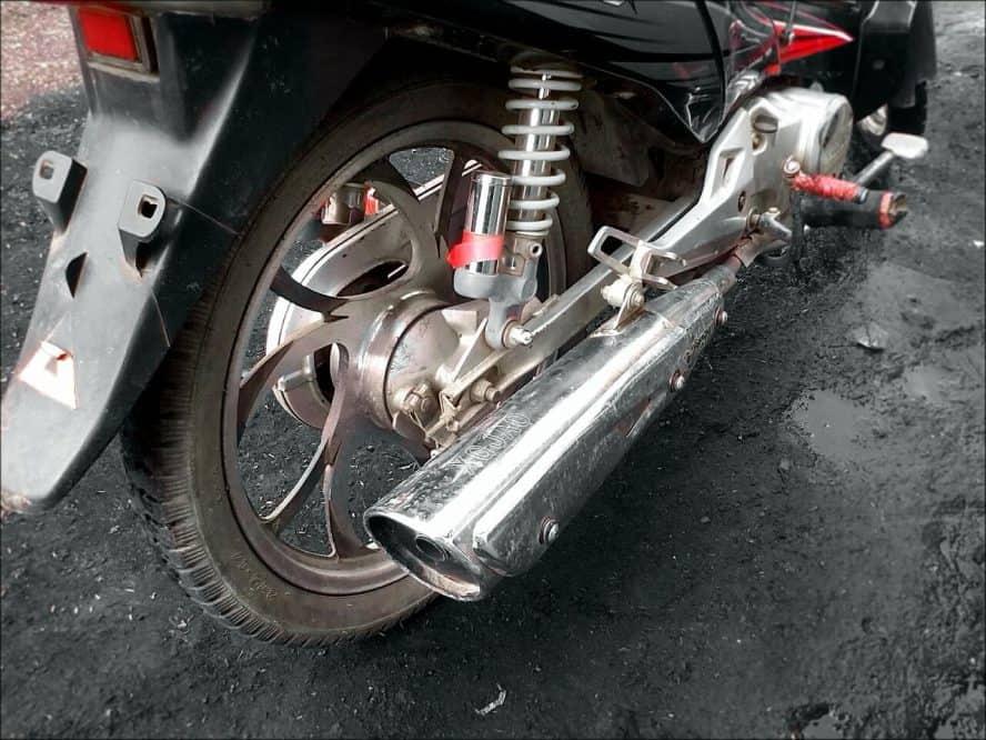motor bike quiet
