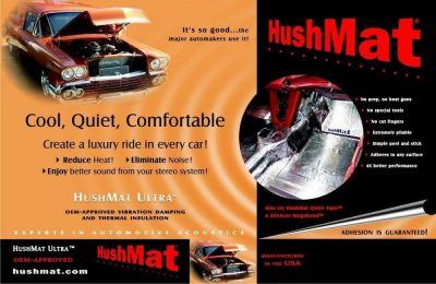 Hushmat Sound Deadening