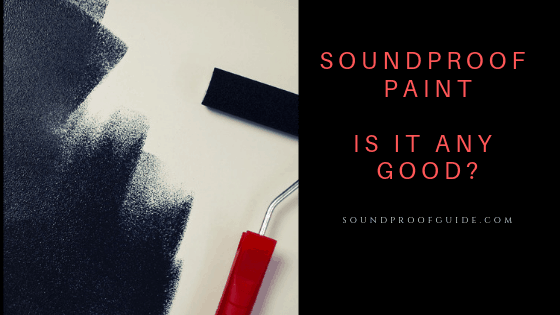 sound dampening paint work?